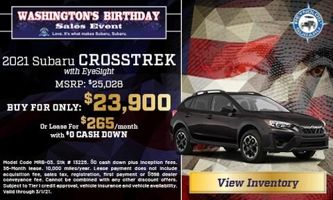 2021 Subaru Crosstrek with EyeSight
