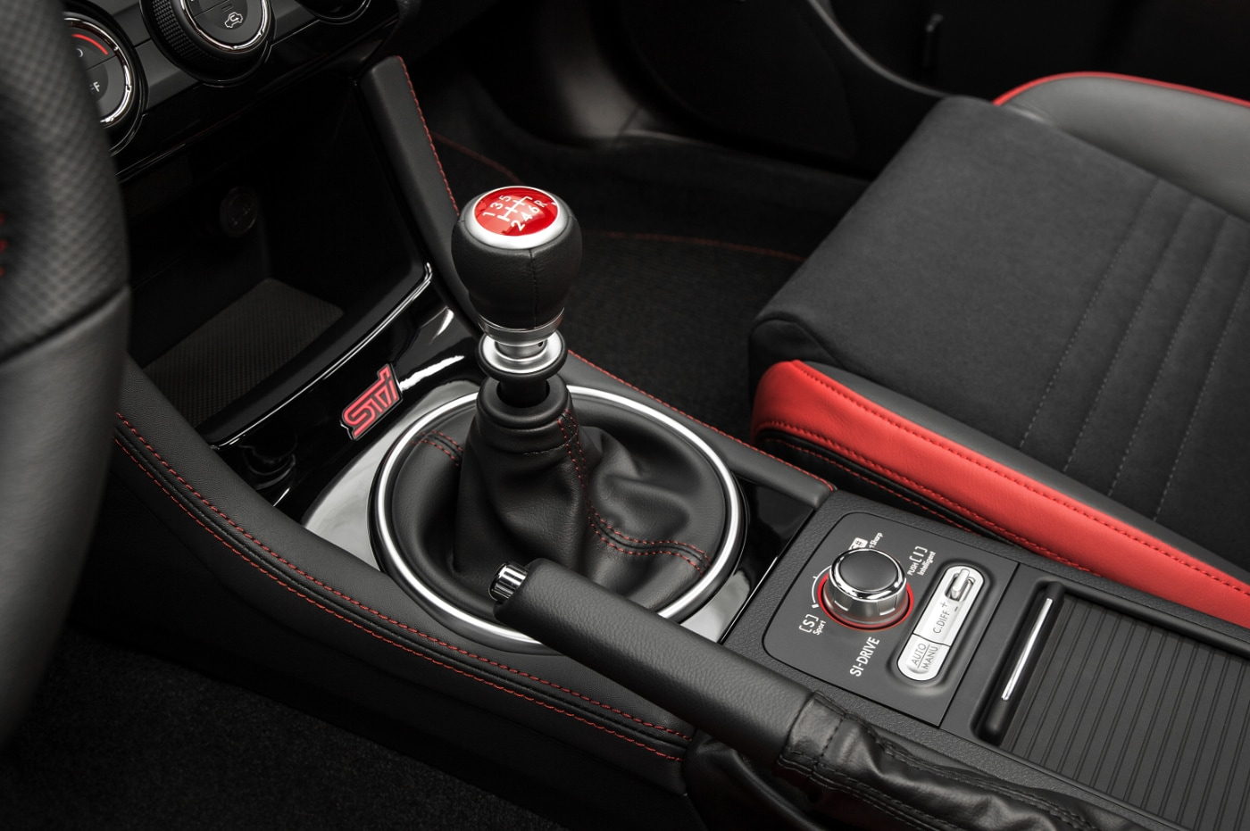 2018 WRX STI Interior AWD Differntial
