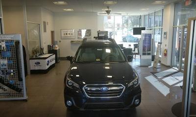 Reynolds Subaru Interior