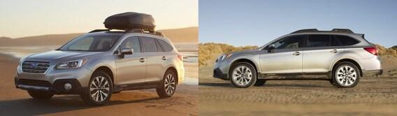 Outback Vs Crv >> Compare Subaru Outback Vs Honda Cr V Toyota Rav4 In Orange