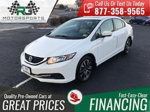 2015 Honda Civic 4dr CVT EX*ONE OWNER*CLEAN CARFAX*VERY LOW MILES*