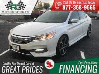 2017 Honda Accord Sport*ONE OWNER*CLEAN CARFAX*LOW MILES*LIKE NEW* Sedan