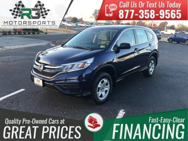 2015 Honda CR-V AWD 5dr LX*ONE OWNER*CLEAN CARFAX*LOW MILES* Sport Utility