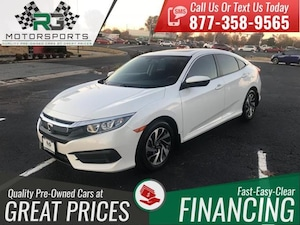 2016 Honda Civic 4dr CVT EX*ONE OWNER*CLEAN CARFAX*