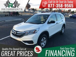 2015 Honda CR-V AWD 5dr LX*ONE OWNER*CLEAN CARFAX*LOW MILES*