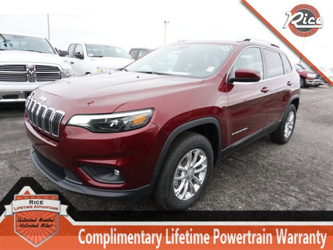 New 2019 Jeep Cherokee LATITUDE 4X4 Sport Utility For Sale Alcoa TN