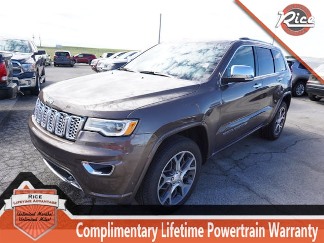 New 2019 Jeep Grand Cherokee OVERLAND 4X4 Sport Utility For Sale Alcoa TN