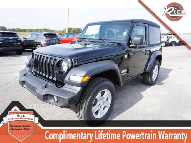 New 2018 Jeep Wrangler SPORT S 4X4 Sport Utility For Sale Alcoa TN