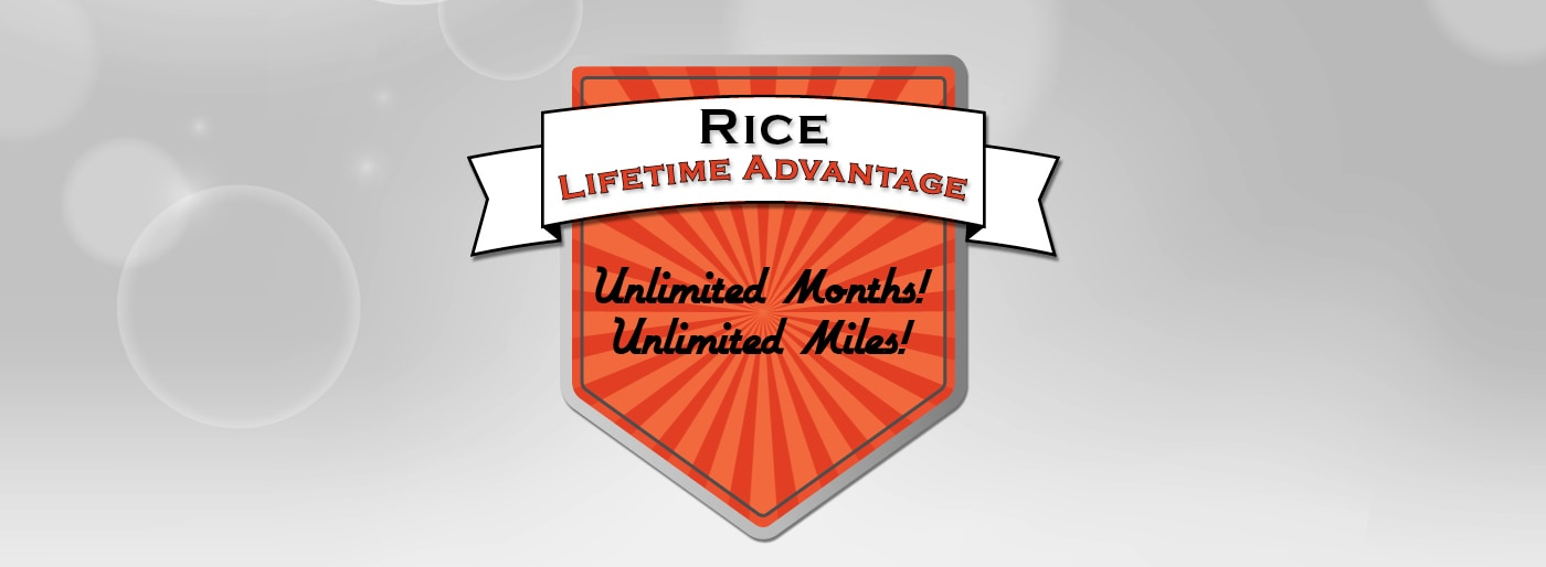 Rice Lifetime Advantage Logo