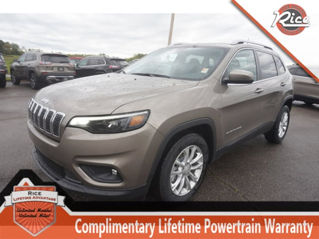 New 2019 Jeep Cherokee LATITUDE FWD Sport Utility For Sale Alcoa TN