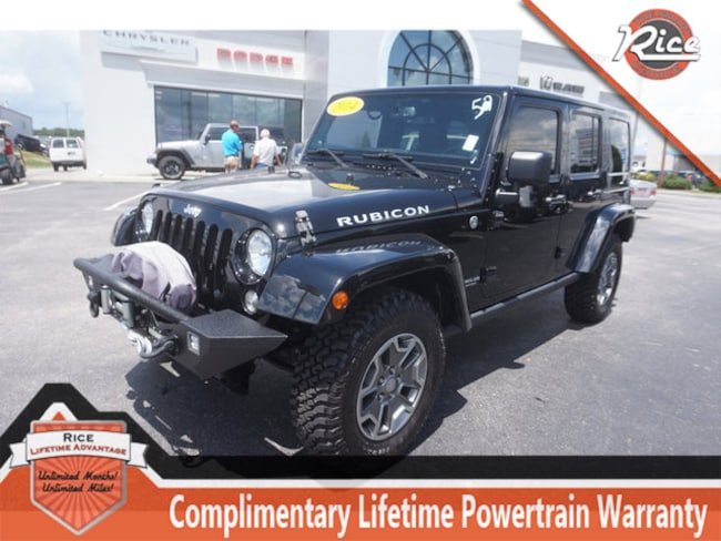 Used 2014 Jeep Wrangler Unlimited Rubicon 4x4 SUV Near Knoxville