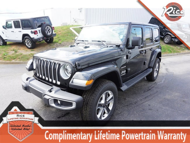 New 2018 Jeep Wrangler UNLIMITED SAHARA 4X4 Sport Utility For Sale Alcoa TN
