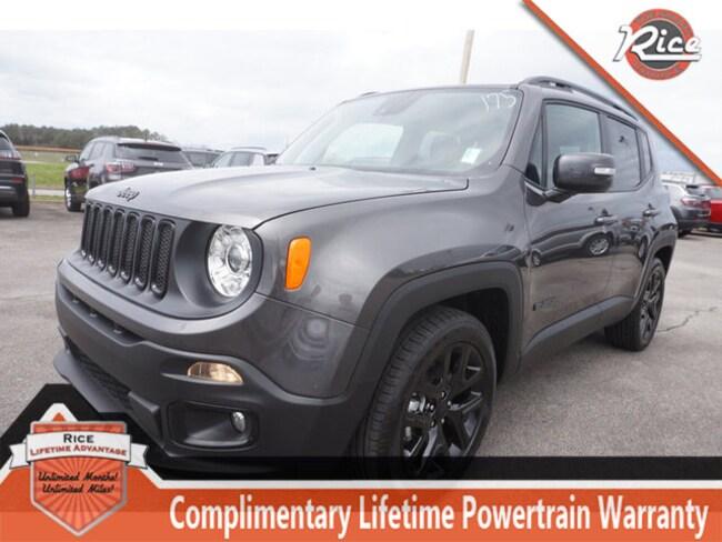 New 2018 Jeep Renegade ALTITUDE 4X2 Sport Utility For Sale Alcoa TN