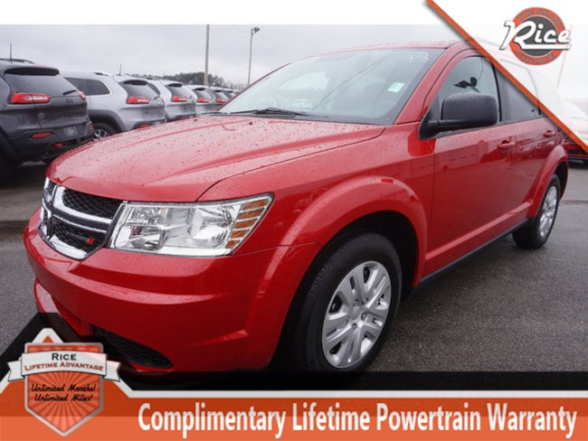 New 2018 Dodge Journey SE Sport Utility For Sale Alcoa TN