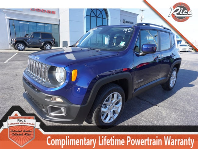 New 2018 Jeep Renegade LATITUDE 4X2 Sport Utility For Sale Alcoa TN
