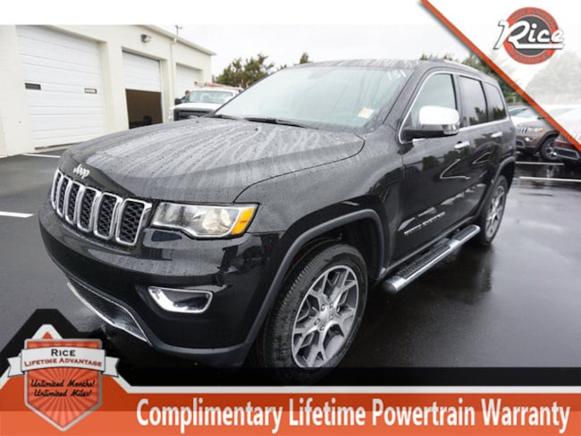 New 2019 Jeep Grand Cherokee LIMITED 4X4 Sport Utility For Sale Alcoa TN