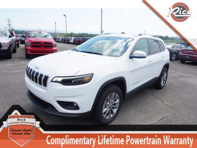 New 2019 Jeep Cherokee LATITUDE PLUS 4X4 Sport Utility For Sale Alcoa TN