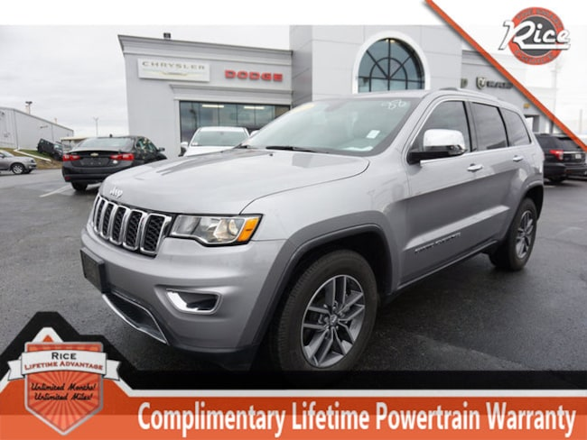 Used 2017 Jeep Grand Cherokee Limited RWD SUV Near Knoxville
