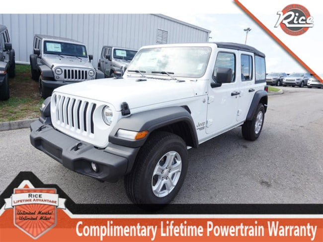 New 2018 Jeep Wrangler UNLIMITED SPORT S 4X4 Sport Utility For Sale Alcoa TN