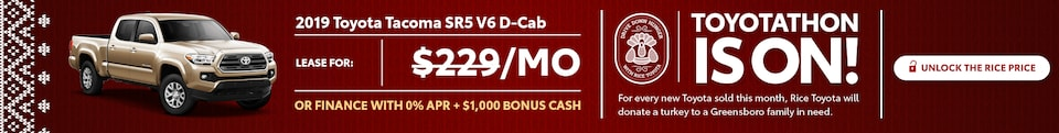 Toyotathon Toyota Tacoma Special Offer