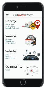 Toyota Owners App withRoadside Assistance