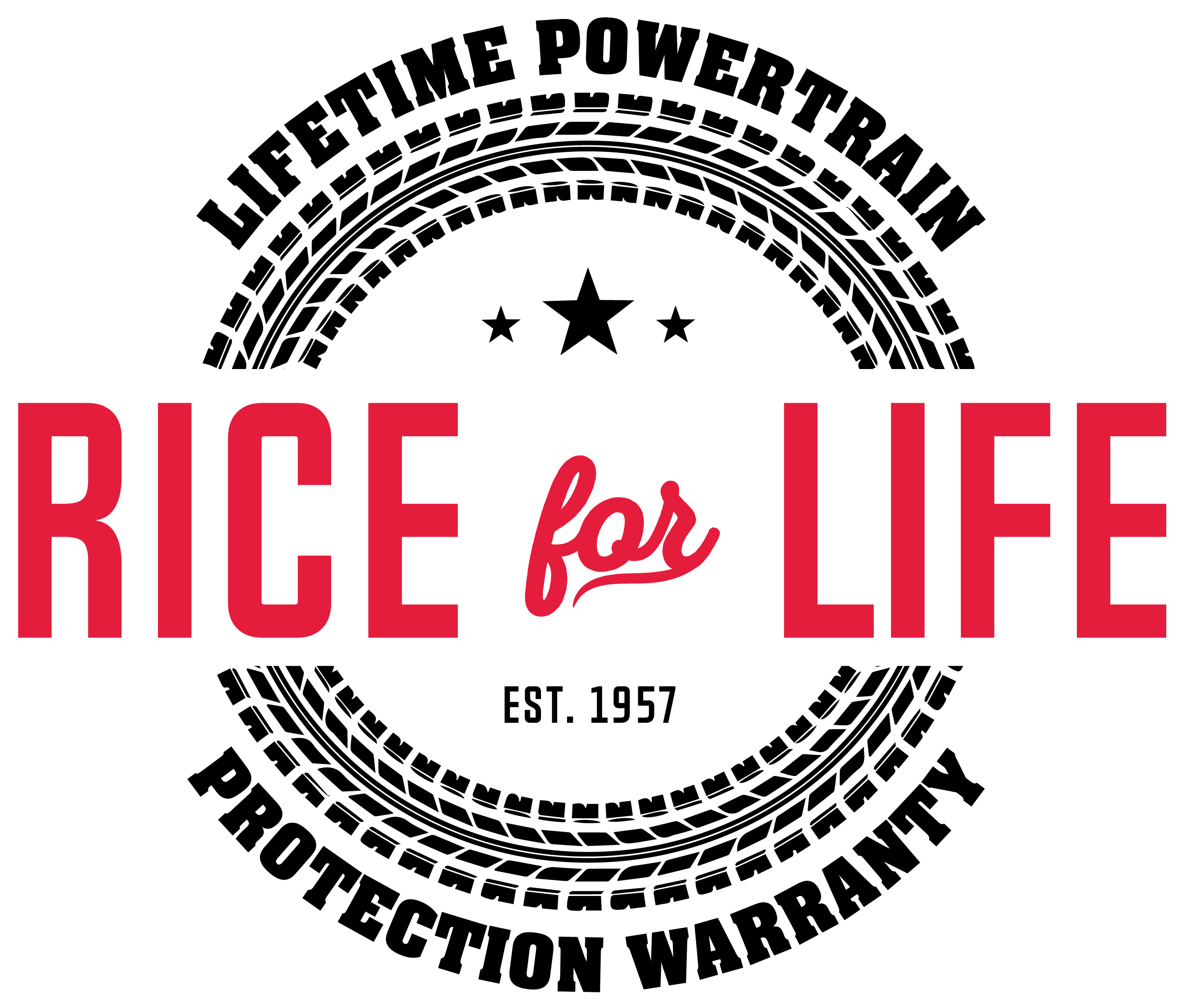 Rice for Life Powertrain Protection Warranty