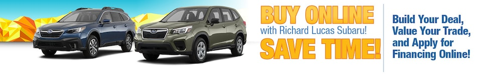 Buy Online With Richard Lucas Subaru