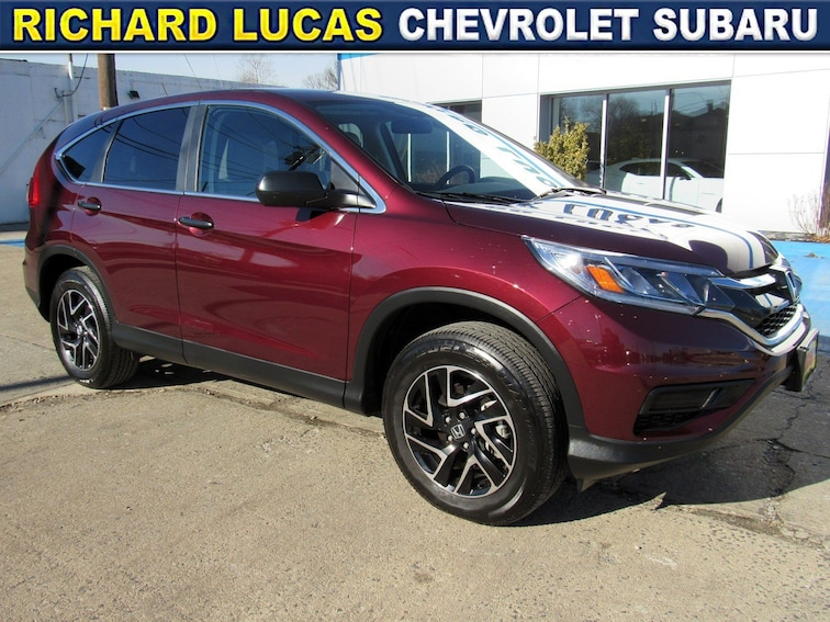 Used 2016 Honda CR-V SE AWD SUV in Avenel