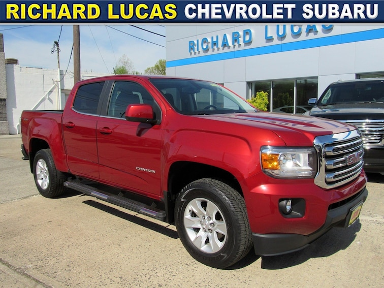 Used 2016 GMC Canyon SLE Truck Crew Cab in Avenel