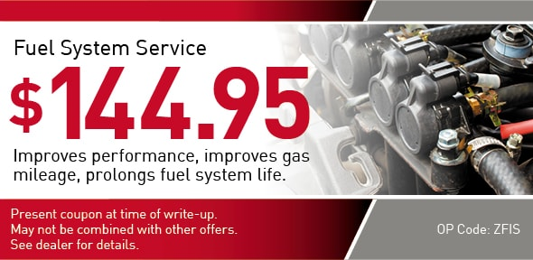 Fuel System Service offer Coupon, Richardson, TX