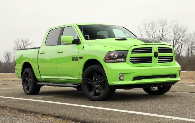 2017 ram 1500 sublime sport makes rivals green with envy. Black Bedroom Furniture Sets. Home Design Ideas