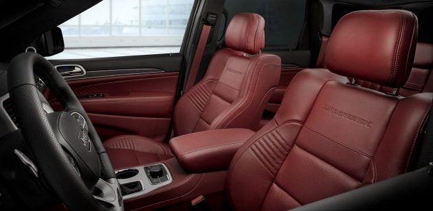 Grand Cherokee Trackhawk Seats
