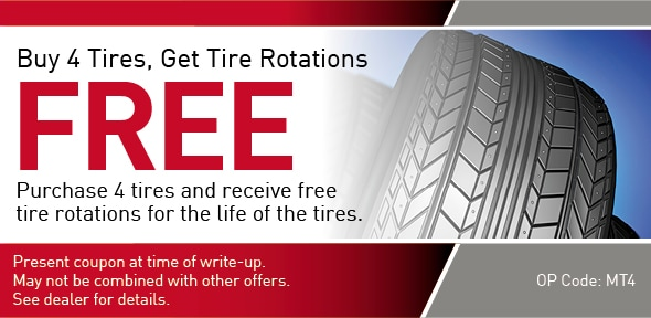 Tire Rotation Special offer Coupon, Richardson, TX
