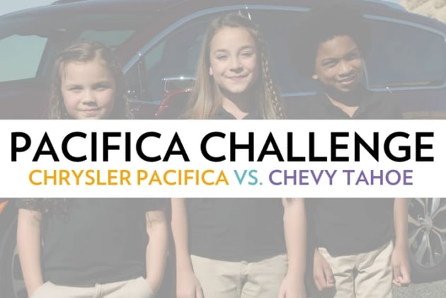 PacifiKids - Chrysler Pacifica Vs Chevy Tahoe