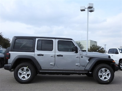 New 2019 Jeep Wrangler UNLIMITED SPORT S 4X4 For Sale in Richardson TX  KW561376   Dallas New Jeep For Sale 1C4HJXDG9KW561376