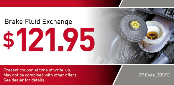 Brake Fluid Exchange offer Coupon, Richardson, TX