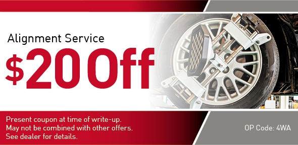 Alignment Special offer Coupon, Richardson, TX