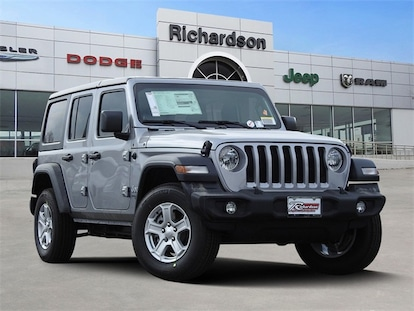 New 2019 Jeep Wrangler UNLIMITED SPORT S 4X4 For Sale in Richardson TX  KW561376 | Dallas New Jeep For Sale 1C4HJXDG9KW561376