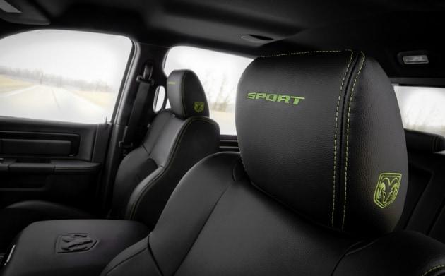 Ram 1500 Sublime Sport Seats