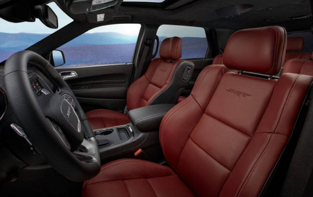 Dodge Durango SRT Laguna Leather Seats