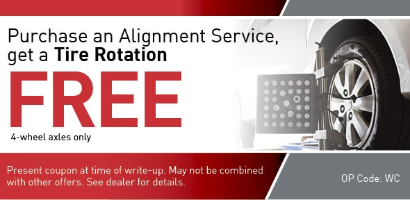 Tire Rotation Special Coupon, Richardson, TX