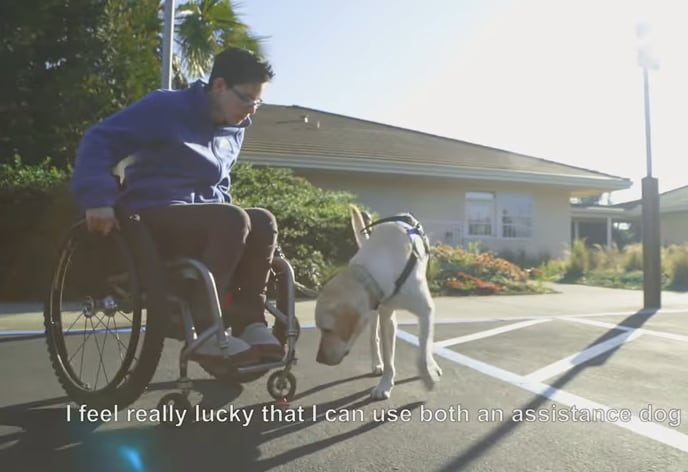Wallis Brozman from Canine Companions discusses partnership with Chrysler and BraunAbility