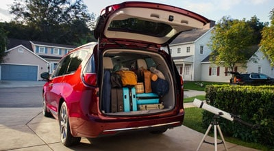 2019 Chrysler Pacifica Rear Liftgate