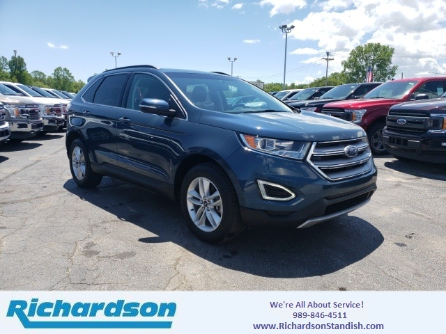 Richardson Ford Standish >> Used 2016 Ford Edge Sel For Sale Standish Mi Stock 3467