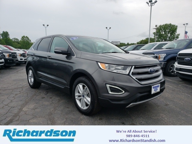 Richardson Ford Standish >> Used 2017 Ford Edge Sel For Sale Standish Mi Stock 3461