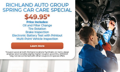 Richland Auto Group Spring Car Care Special