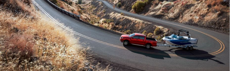2019 Red Ford Ranger