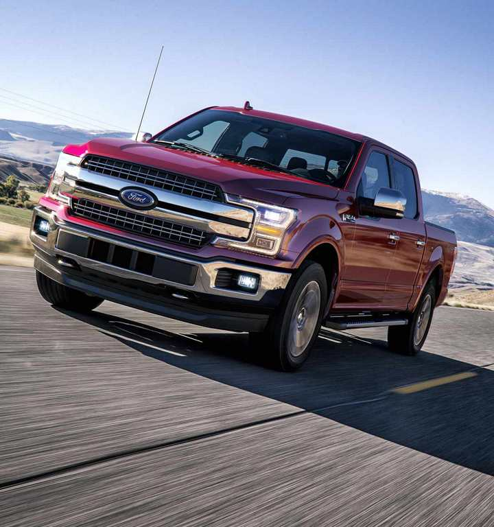 2018 Ford F-150 in Ruby Red