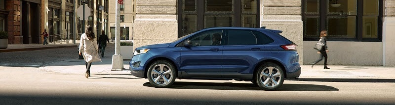 Ford Edge Blue