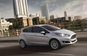 2017 Ford Fiesta in Ignot Silver